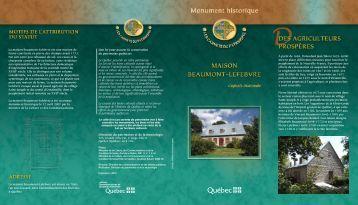 Maison Beaumont-Lefebvre - Ministère de la Culture et des ...