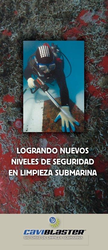 logrando nuevos niveles de seguridad en limpieza submarina