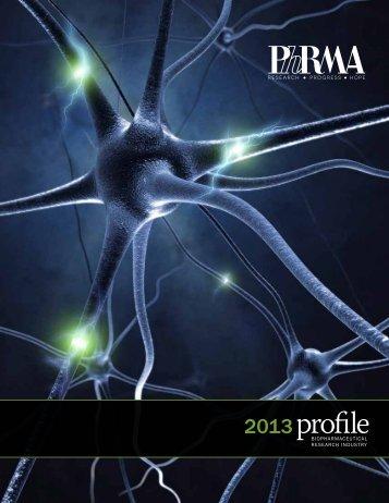 PhRMA Profile 2013