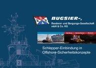 Notfallschlepper an den deutschen Küsten und deren Einbindung in ...