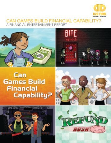 Can games build finanCial Capability? - D2D Fund