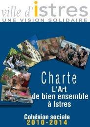 """Lire la charte de """"l'Art de Bien Vivre Ensemble"""" à Istres"""