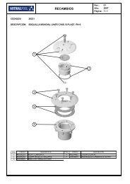 RECAMBIOS 4 3 1 5 2 - AstralPool