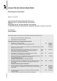 01_Tagesordnung Bündelitag - Grosser Rat - Kanton Basel-Stadt