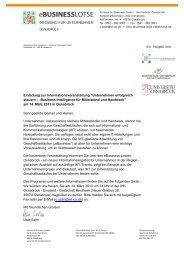 Einladung eBusiness-Lotsen - Wigos