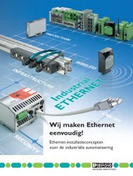 Wij maken Ethernet eenvoudig! - Phoenix Contact