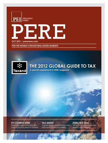 THE 2012 gLObAL guIDE TO TAx - BMR Advisors
