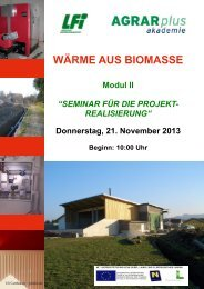 Einladung Modul II .pdf - Agrar Plus