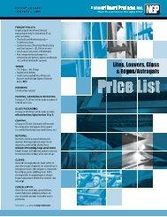 NGP 2011 Lite Kit Price Book - Access Hardware Supply