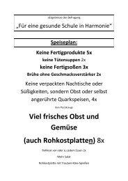 Befragung - Grundschule Harmonie