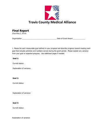 Final Report Over  Please Refer To The Online Grant