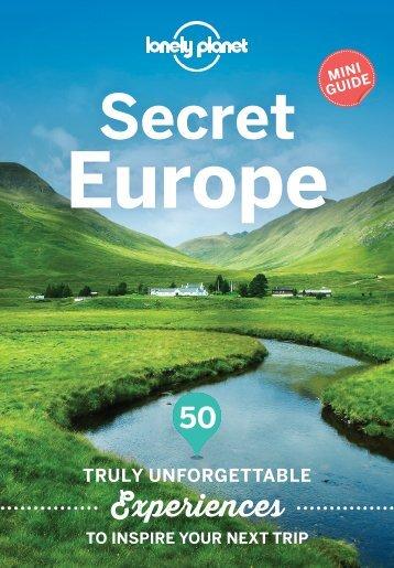 Lonely-Planet-Secret-Europe-Mini-Guide