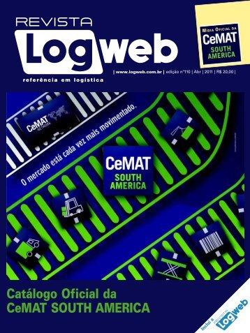 Catálogo Oficial da CeMAT SOUTH AMERICA - Logweb