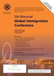 5th Biennial Global Immigration Conference - International Bar ...