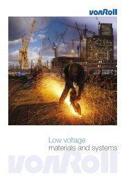 Brochure_LOW VOLTAGE.indd - Von Roll