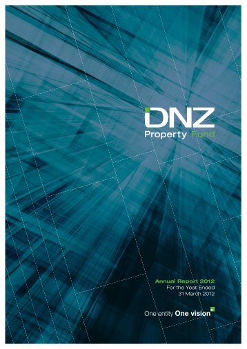 DNZ Annual Report for the year ended 31 March 2012