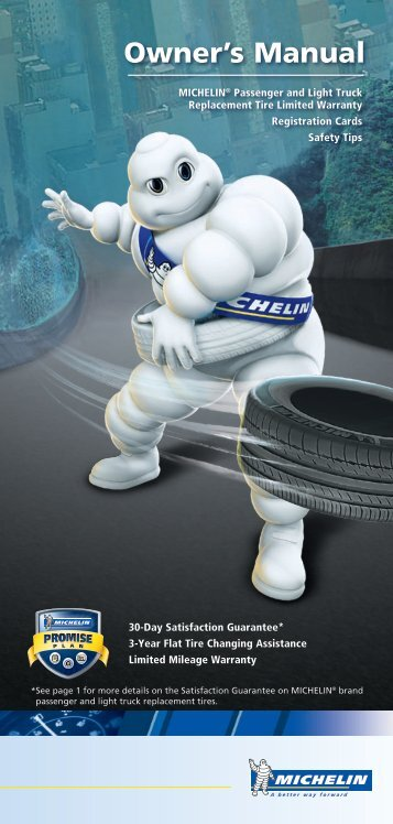 Download the Michelin Owner's Manual