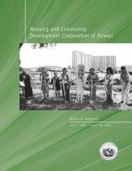 Housing and Community Development Corporation of Hawaii ...