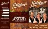 open air 2012 - Zillertaler Haderlumpen