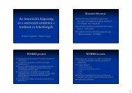 Az innovációs képesség és a szervezeti struktúra – korlátok és ...