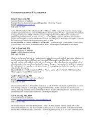 Gastroenterology & Hepatology - Weill Cornell Department of ...