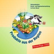 Produkte aus der Region - Gutes vom Niederrhein
