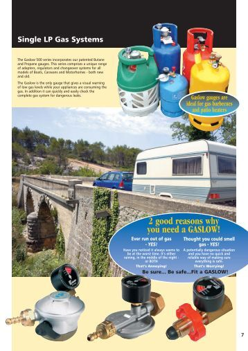 Lpg Gas Systems For Boats Caravans And Motorhomes | Autos Post
