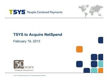 presentation - TSYS