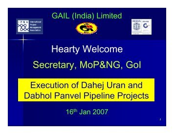 Dabhol – Panvel Pipeline - pptfun