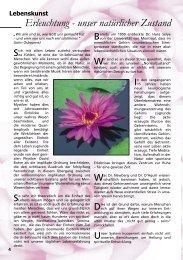 Erleuchtung - unser natürlicher Zustand - AURA – Magazin