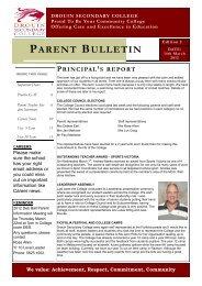 Bulletin 2 - Drouin Secondary College