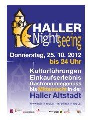Die Nacht der Geister im alten  Hall Halls Friedhöfe - in Hall in Tirol
