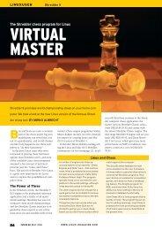 VIRTUAL MASTER - Linux Magazine