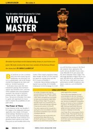 VIRTUAL MASTER - Linux Magazine