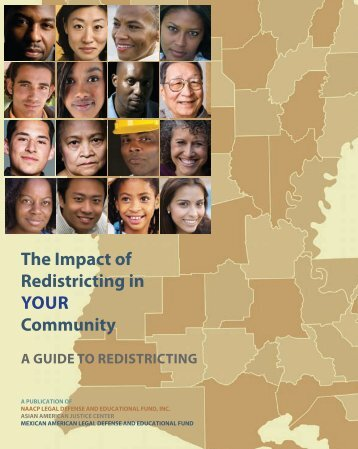 The Impact of Redistricting in YOUR Community: A Guide to - maldef