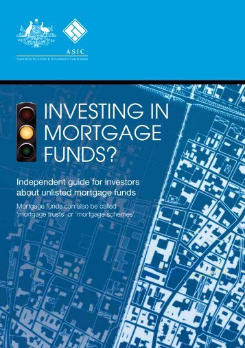 Investing in mortgage funds - MoneySmart