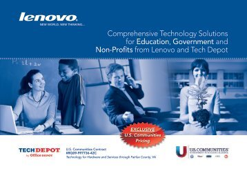 Comprehensive Technology Solutions for Education ... - Tech Depot