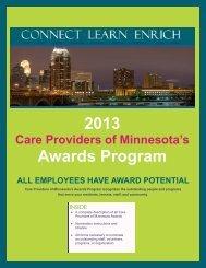 2013 Awards Program - Care Providers of Minnesota