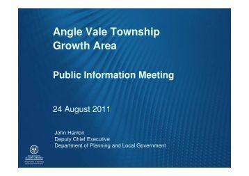 Angle Vale Township Growth Area - City of Playford - SA.Gov.au