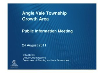 Angle Vale Township Growth Area - City of Playford - SA.Gov.au