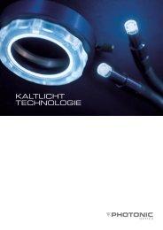 Prospekt Kaltlicht Technologie - micros