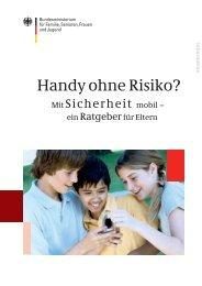 Handy ohne Risiko? Mit Sicherheit mobil – ein ... - und Jugendschutz