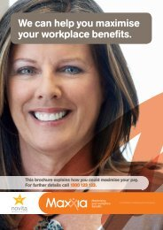We can help you maximise your workplace benefits. - Novita ...