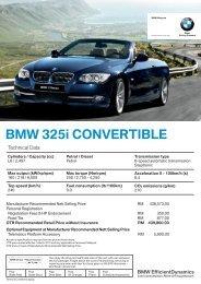 1  BMW PRODUCT DESCRIPTION - Pacific Motors Pymble