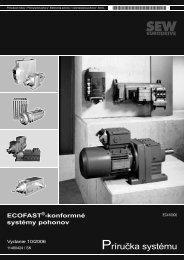 Príručka systému - SEW-Eurodrive