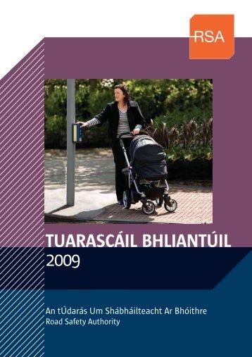 TUARASCÁIL BHLIANTÚIL - Road Safety Authority
