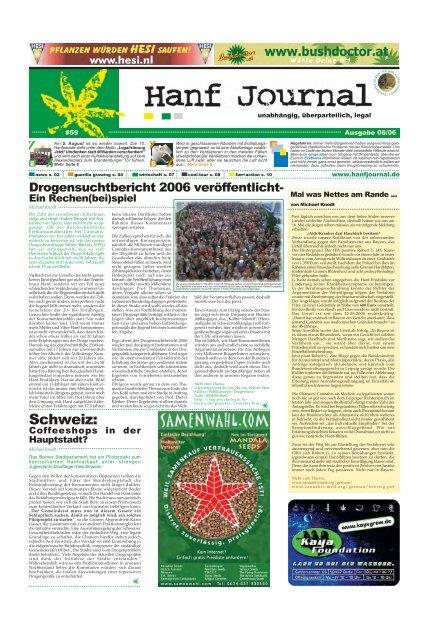 Schweiz: - Hanfjournal