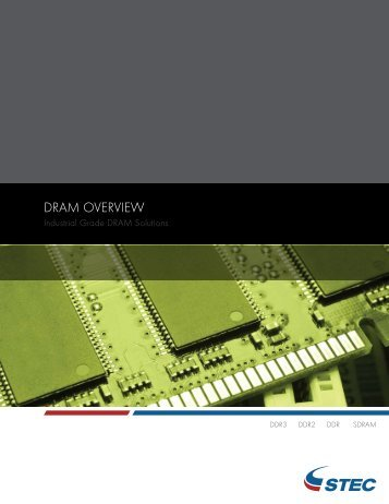 DRAM OVERVIEW - sTec, Inc