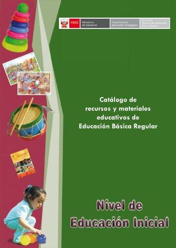 Catálogo de recursos y materiales educativos de Educación Básica ...