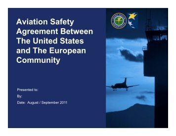 Observations on faas oversight of aviation safety office of aviation safety agreement between the united states and the faa platinumwayz